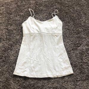 Lululemon White Cami